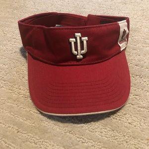 Starter Indiana Hoosiers visor red